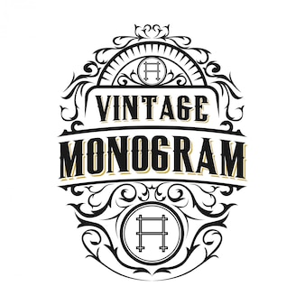 Vintage logo for food / drink labels or restaurants and cafes