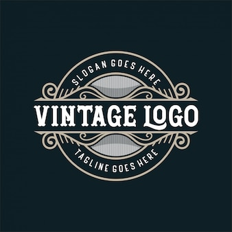 Vintage logo for food or restaurant