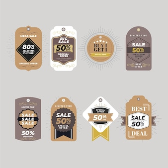 Коллекция винтажных распродаж
