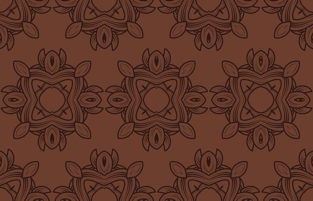 빈티지 고급스러운 완벽 한 패턴