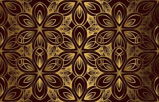 ヴィンテージの豪華なシームレスパターン