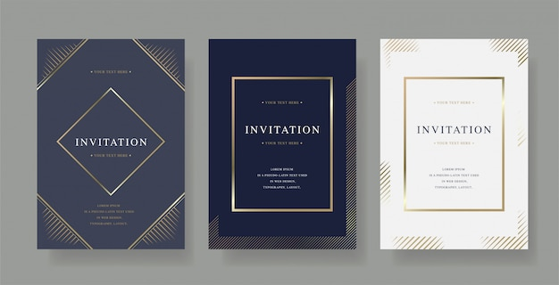 Premium Vector Cocktail Event Invitation With Characters And Beverages