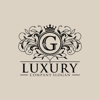 Vintage luxury logo