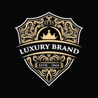 Vintage luxury western antique logo frame label hand drawn engraving  suitable for hand craft beer , wine shop and restaurant