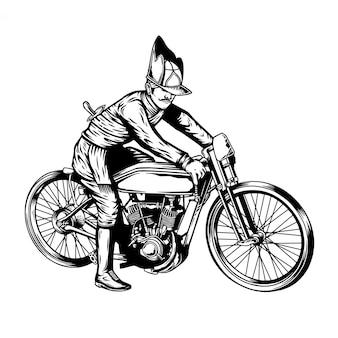 ビンテージバイクジャワ