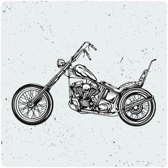 빈티지 오토바이