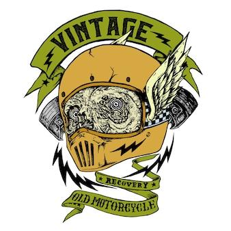 Vintage motorcyle logo