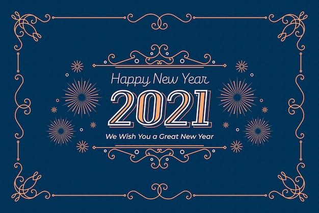 Vintage capodanno 2021