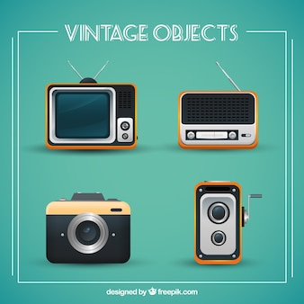 Vintage objects collection