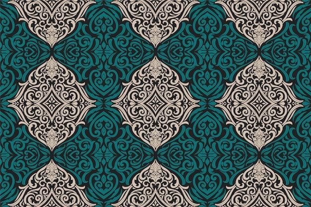 Vintage original seamless pattern
