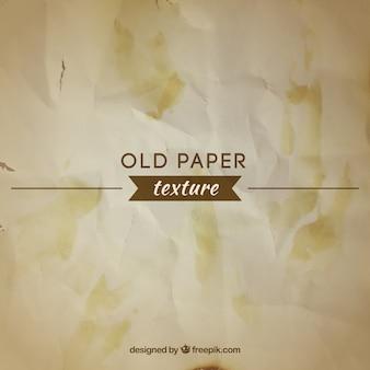 塗料の汚れを持つヴィンテージ紙