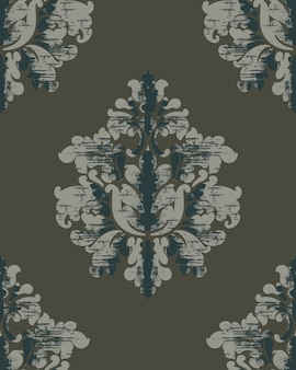 Vintage pattern. classic royal background. damask wallpaper