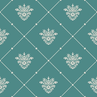 Vintage pattern seamless. design wallpaper, retro background for fabric,