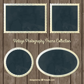 Vintage photography frames