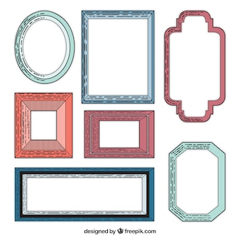 Picture vintage frame collection