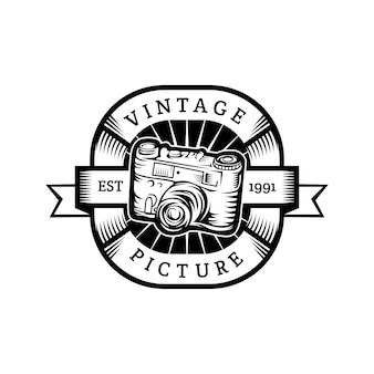 Vintage picture logo