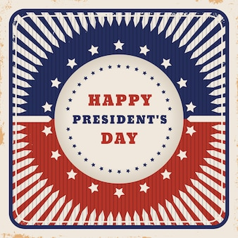 Старинный президентский день в цветах флага