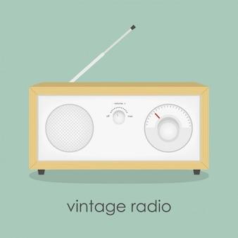 Урожай дизайн радио