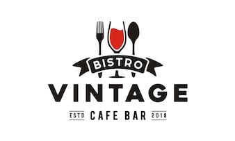 Vintage Restaurant Logo design