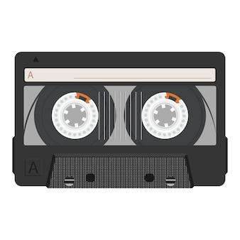 Vintage retro cassette tape.
