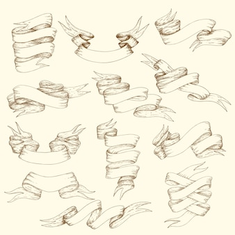 Коллекция старинных лент