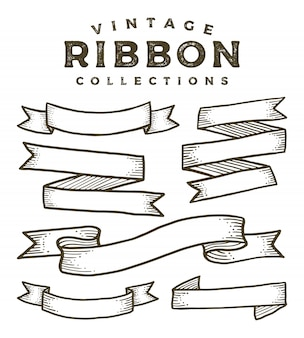 Vintage ribbon collections