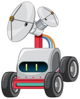 Auto giocattolo robot vintage con lampadina