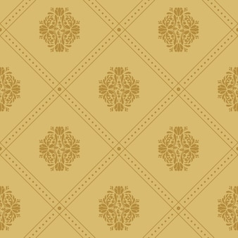 Vintage royal pattern. luxury background