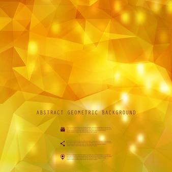 Винтажная распродажа со скидкой осенняя композиция на современном размытом и многоугольном фоне, 10 eps