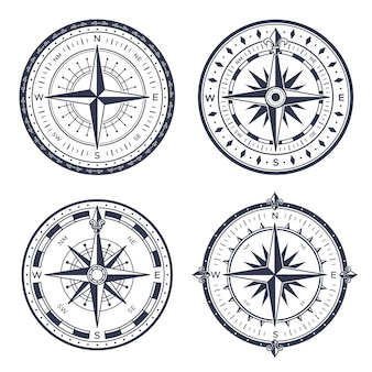 Vintage sea compass