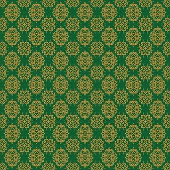 Винтаж бесшовные цветочный узор стиль