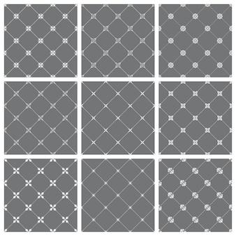 ビクトリア朝様式のデザインのためのヴィンテージのシームレスなパターン