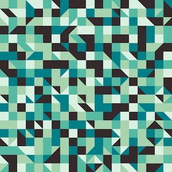 正方形と菱形のビンテージシームレスパターン。