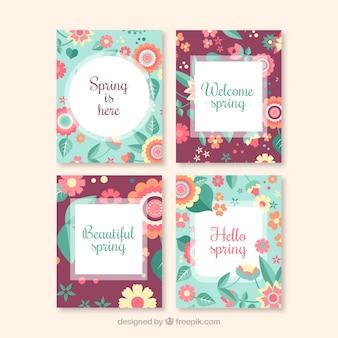 ヴィンテージ春のカード
