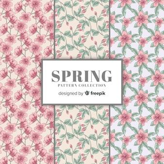 Vintage spring pattern collection