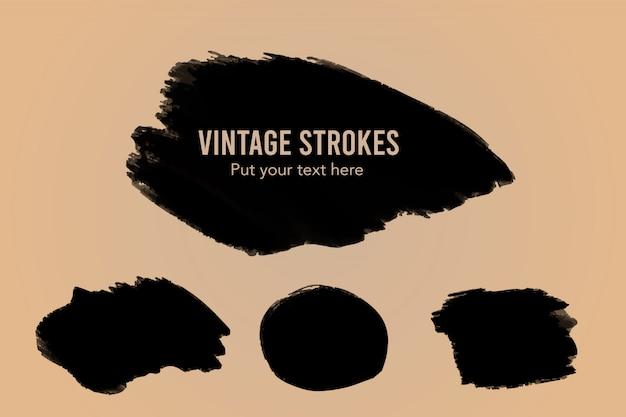 Vintage strokes