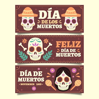 Vintage style day of the dead event