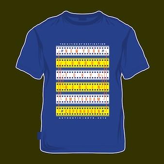 Vintage t shirt design concept