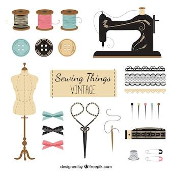 Vintage tailor elements
