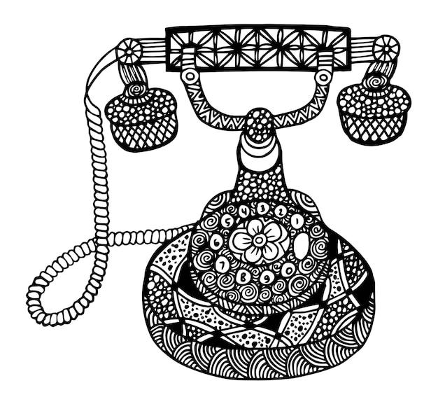 빈티지 전화