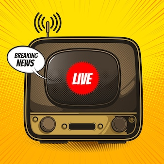 ヴィンテージテレビ、レトロなテレビの写真。