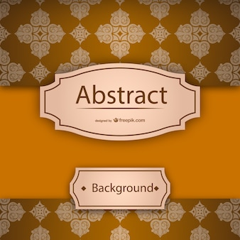 Vintage thai background template