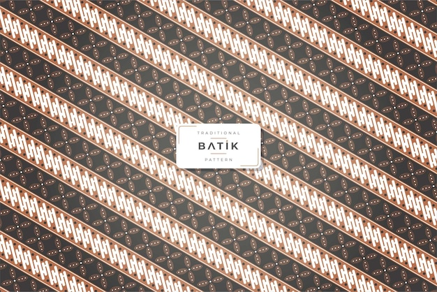 Vintage traditional batik pattern background