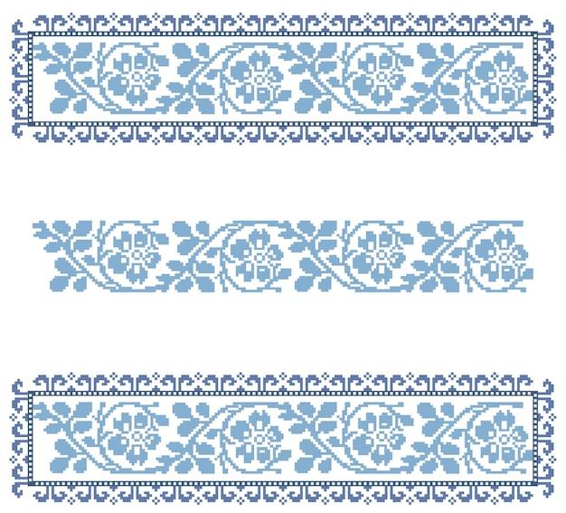 Vintage traditional lace ornament decor. handmade decoration ribbon