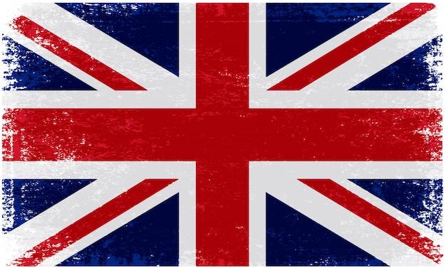 빈티지 영국 국기