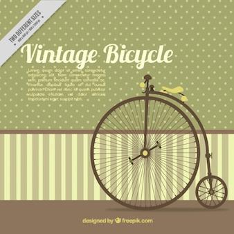 Vintage unicycle background