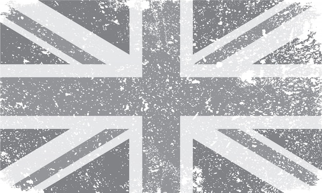 Vintage united kingdom flag