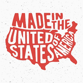 Vintage USA stamp