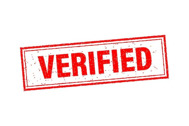 Vintage verified, great design for any purposes. template on red backdrop