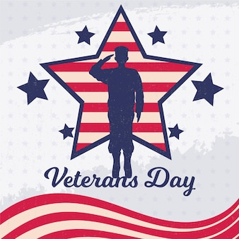 Vintage veterans day